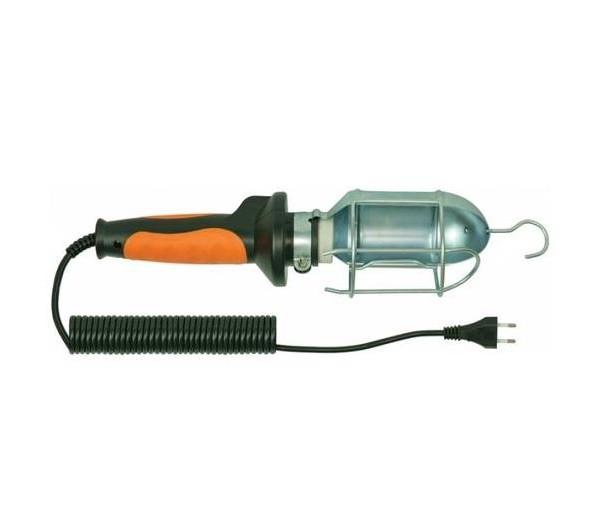 Šviestuvas nešioj. 60W IP20 E27 10m D.3037