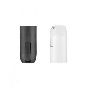 Lempų lizdas E14 plastikas balt. D.3004