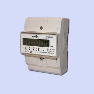 Skaitiklis BM030-L 5(80)A LCD 3f mod. elektron. BEMKO