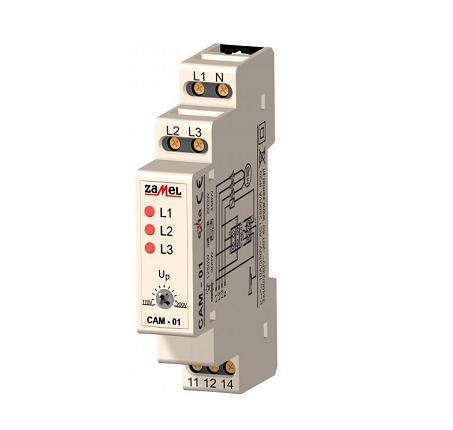 Fazių kontrolės relė CAM-01