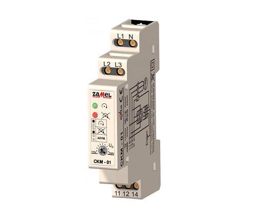 Fazių kontrolės relė CKM-01
