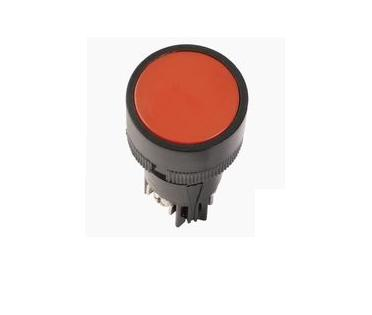 Mygtukas SB-7 STOP (Raud) 230V D22 1NC