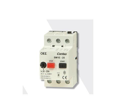 Variklio automatiniai jungikliai serijos SM1E 0